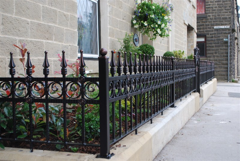 Quality wrought iron railings